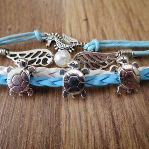 Schildkröten-Armband Josy
