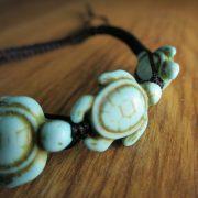 Schildkröten-Armband Shelly